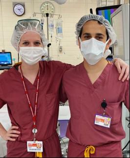 Physicians posing