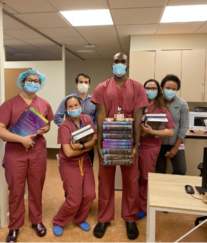 Physician's book club!
